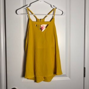 Yellow Cami NWT